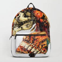Skull Colorful Chief Backpack