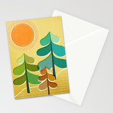 Golden Days Stationery Cards