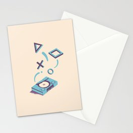 ElectroVideo MegaDrive (blue) Stationery Cards