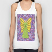 military Tank Tops featuring Military Angel by GT6673