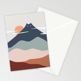 Cat Landscape 21 Stationery Cards