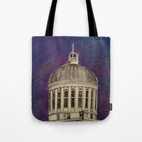 montreal Tote Bags featuring Montreal by Shazia Ahmad