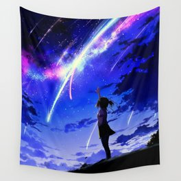 "Kimi No Na Wa ""Your Name"" v1 Wall Tapestry"