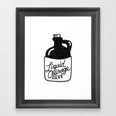 Liquid Courage Framed Art Print