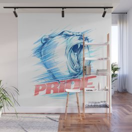 Bear Pride Wall Mural