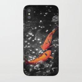 Lucky Koi Fountain iPhone Case