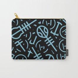 TØP Stickers - Original Logo Blue Carry-All Pouch