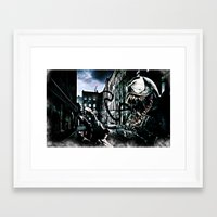 venom Framed Art Prints featuring Venom  by D77 The DigArtisT
