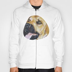 Mans Best Friend - Dog in Suit Hoody