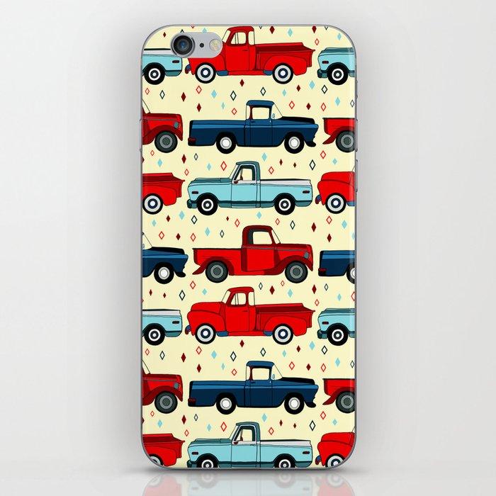 Winter Vintage Trucks iPhone Skin