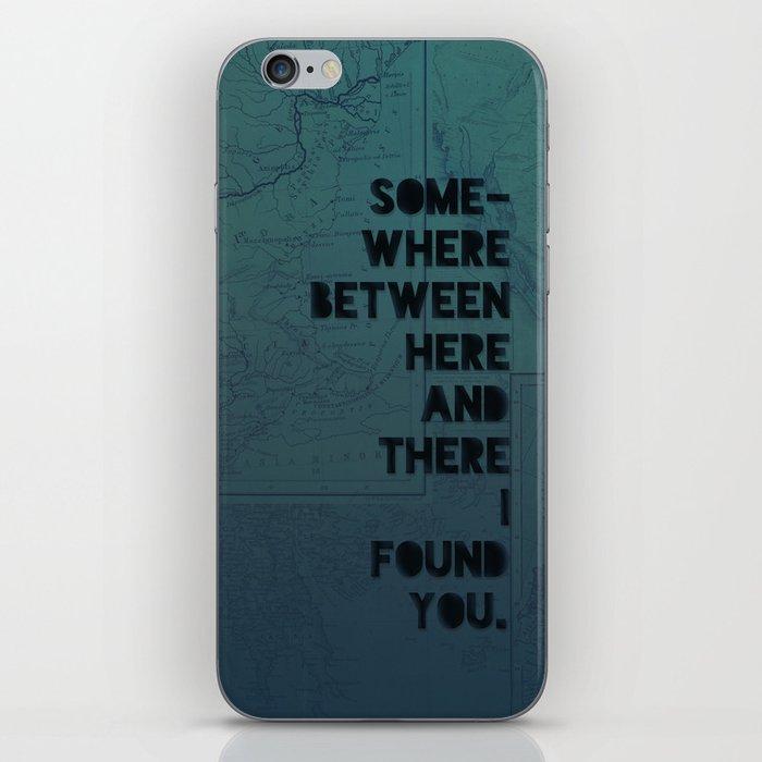 Here & There II iPhone Skin