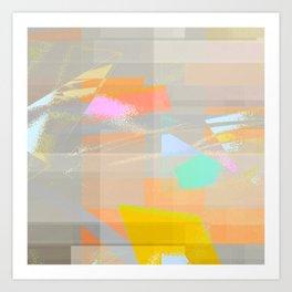 marine layer breakin off Art Print