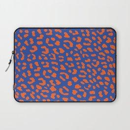 Leopard skin blue Laptop Sleeve