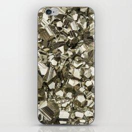 Pyrite iPhone Skin