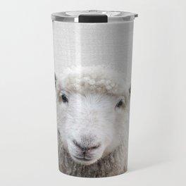 Sheep - Colorful Travel Mug