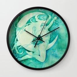 Goddess of Cancer - A Water Element Wall Clock