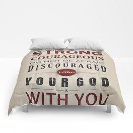 Joshua 1:9 Comforters