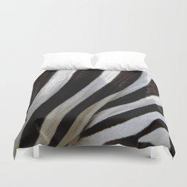 Zebra Skin Duvet Cover