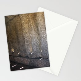 Sun through the stone Stationery Cards