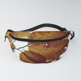 Beech Leaves Fanny Pack