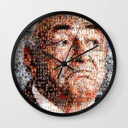 BEHIND THE FACE Dominique Strauss-Kahn | sexy girls Wall Clock