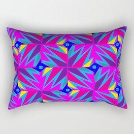 Retro Rosemary Pink Rectangular Pillow