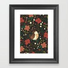 Christmas Robin Framed Art Print