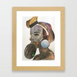 Human 2 Framed Art Print