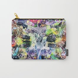 Crow's Paintbrush Carry-All Pouch