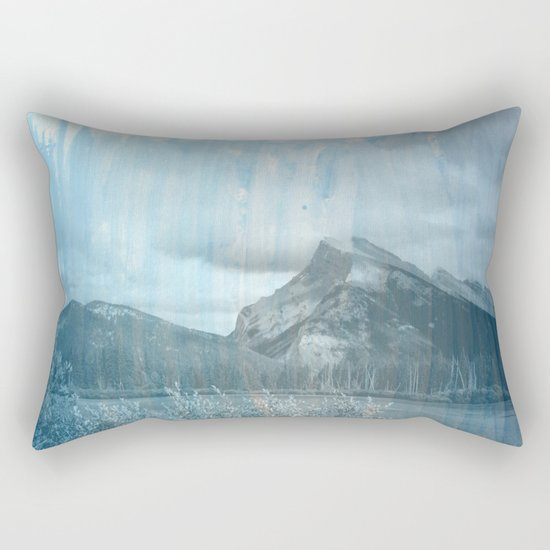 Blue Blue Skies Rectangular Pillow