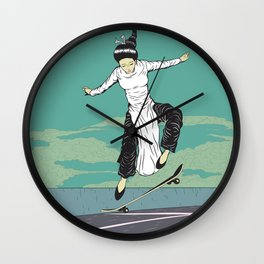 [ LET YOURSELF GO! ] The Vietnamese lady. Wall Clock