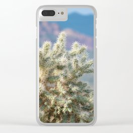 Arizona Cactus Clear iPhone Case