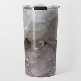 Silver & Quartz Crystal Travel Mug