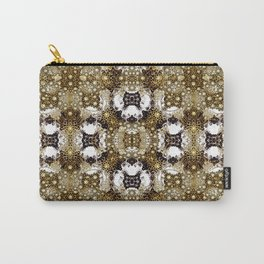 Baroque Ornament Pattern Print Carry-All Pouch