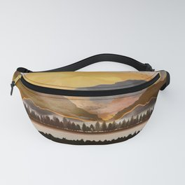 Pure Wilderness at Dusk Fanny Pack