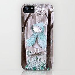 Wild girl iPhone Case