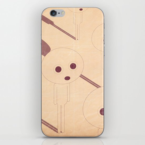 p e r p l e s s i iPhone & iPod Skin