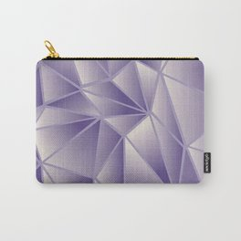Violet Gold Stained Glass Carry-All Pouch