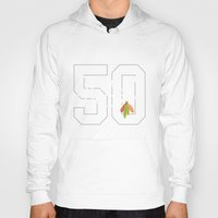 blackhawks Hoodies featuring Craw Daddy by fohkat