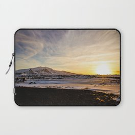 Snaefellsnes- Sunset Laptop Sleeve