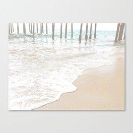 Huntington Beach Wave // California Ocean Sandy Beaches Surf Country Pacific West Coast Photography Canvas Print