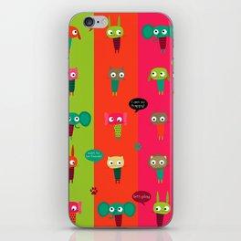 Little friends iPhone Skin