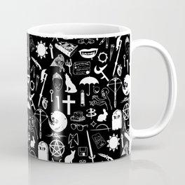 Buffy Symbology, White Coffee Mug