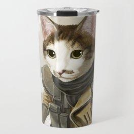 Rider Cat Travel Mug