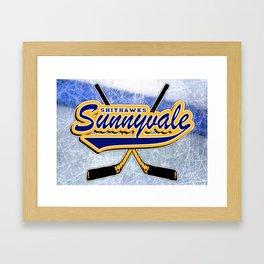 SHITHAWKS Framed Art Print