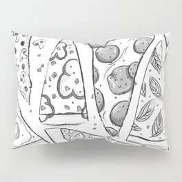 Dat Pizza Life Pillow Sham