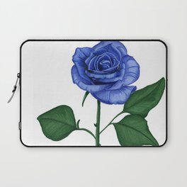 Blue Rose, Single Laptop Sleeve