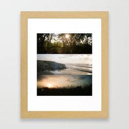Peace + Freedom Panoramic Framed Art Print