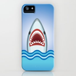 Cartoon Shark iPhone Case
