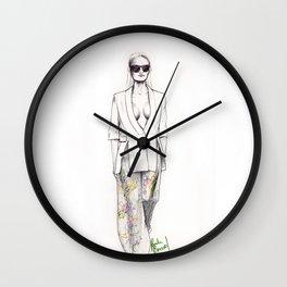 Catwalk model Wall Clock